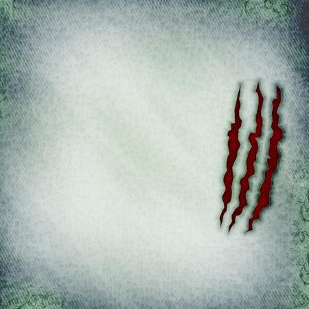 rupture: grunge torn denim paper background