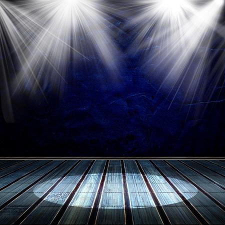 ray trace: Antecedentes en el estilo moderno. Del Interior, brill� con un proyector Foto de archivo