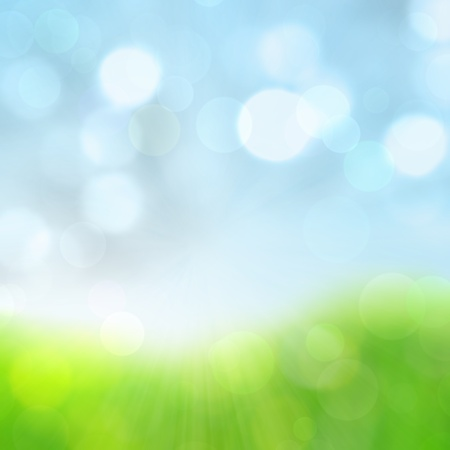 spring abstract nature background  photo
