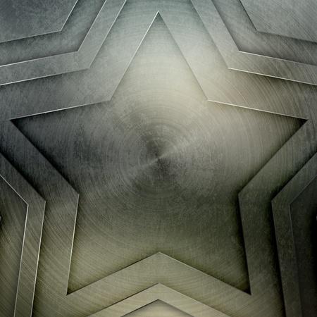 Brushed metal background photo