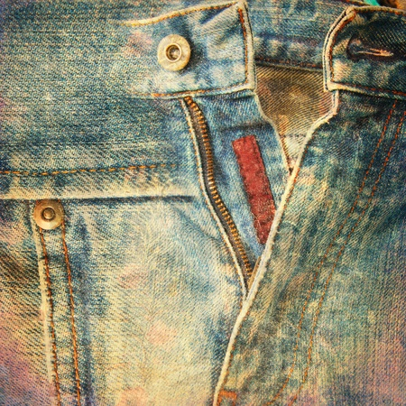 abstract grunge jeans background Stock Photo