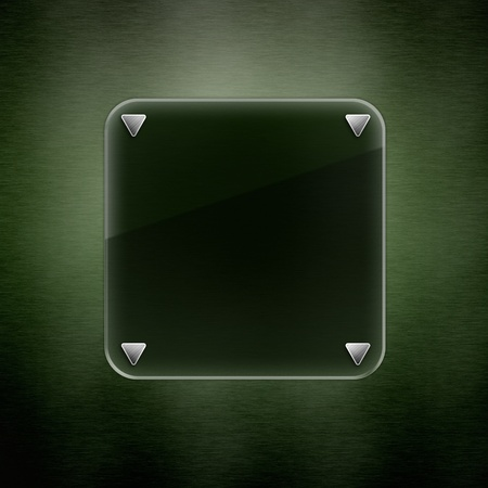 Abstract Darkly Green Background. luxury illumination glass photo