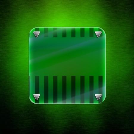 Abstract  Green Background. luxury illumination glass photo