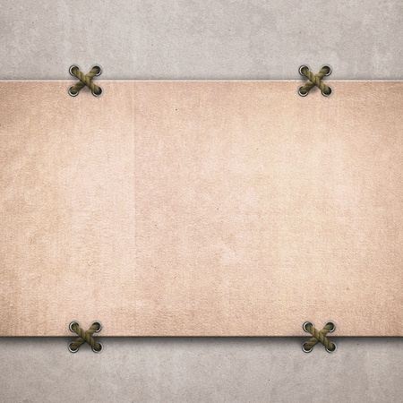 fastening:  Paper texture background. A place for your text Stock Photo