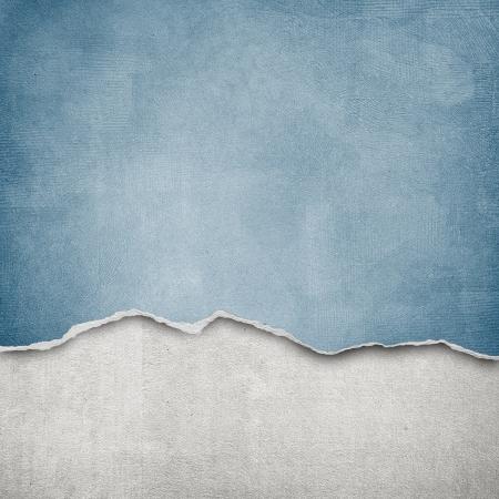 hintergrund: riped Vintage-Papier auf grunge Hintergrund