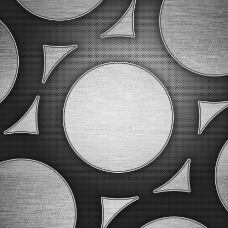 Brushed metal background Stock Photo - 13880027