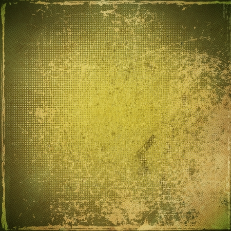 soiled: grunge green paper texture, distressed background Stock Photo
