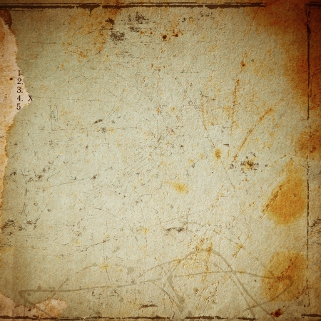 grunge brown paper texture, distressed background photo