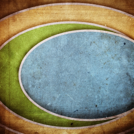 grunge retro paper texture, abstract circles background Stock Photo - 14939764