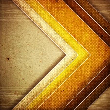 bordure de page: texture grunge papier rétro, abstrait bandes Banque d'images
