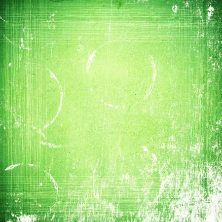grunge green paper texture, distressed background photo