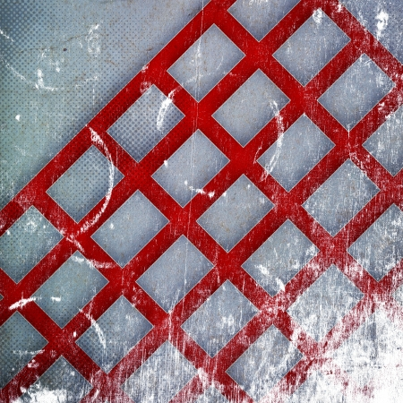 grunge retro paper texture, abstract cages background photo