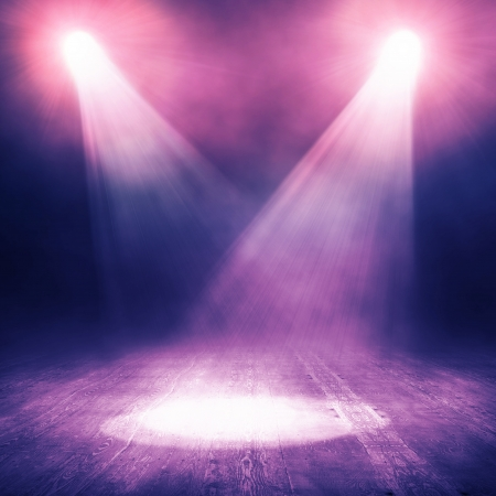 Spotlight  background Stock Photo - 15379099