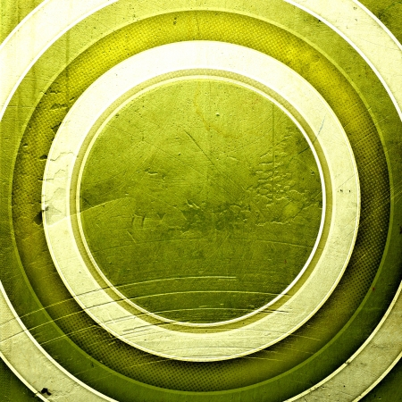grunge retro paper texture, abstract circles background Stock Photo - 15551404