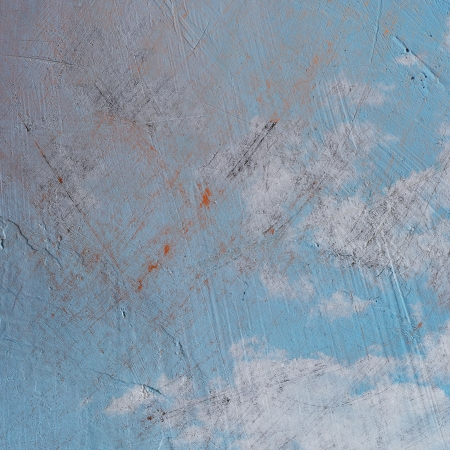 grunge blue paper texture, distressed background Stock Photo - 15694949