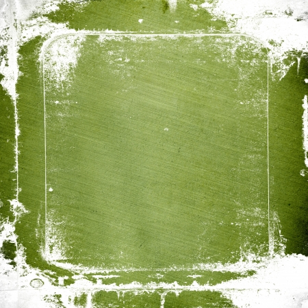 grunge green paper texture, distressed background Stock Photo