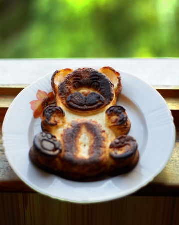 baked pudding bear photo