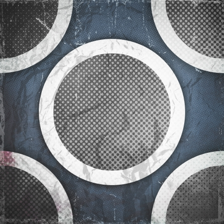 grunge paper texture, abstract circles background photo