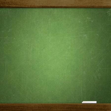 billboard background:  empty school blackboard