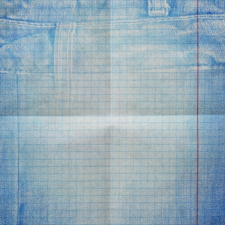 vintage paper cotton texture, abstract grunge jeans background photo
