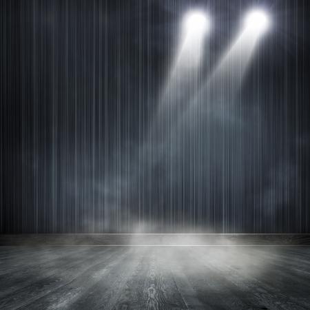 ray trace: Antecedentes en el interior espect?culo brill? con un proyector