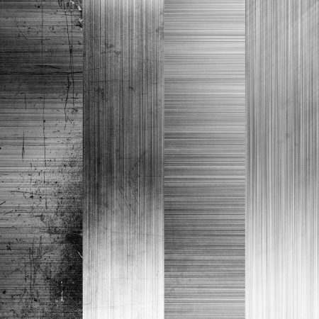 set brushed metal texture, grunge background photo