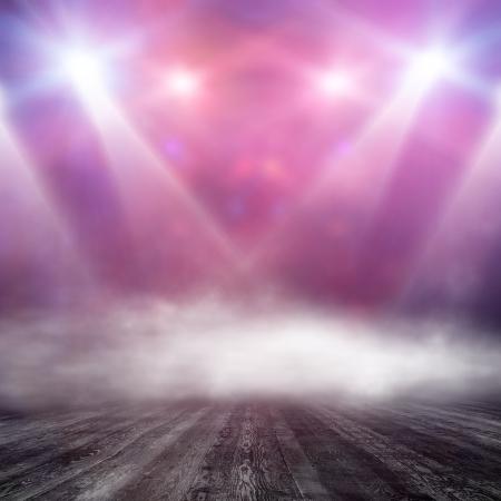 プロジェクターに光っているインテリア ショーの背景 写真素材 - 23643005