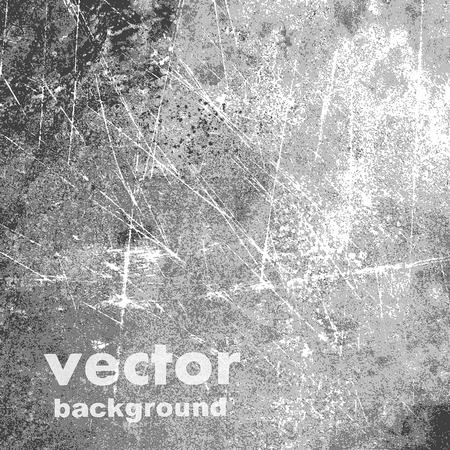 グランジ レトロなヴィンテージ紙テクスチャ、ベクトルの背景  イラスト・ベクター素材