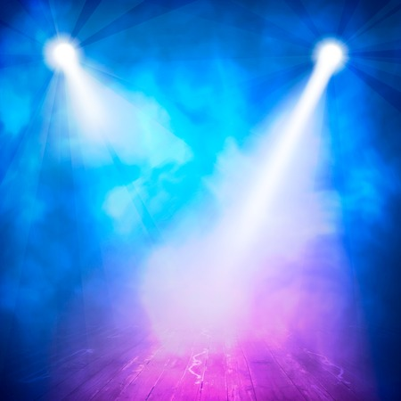 concert background: Background in show. interior shined with a projector