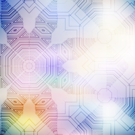 geometrical pattern: Geometrical Pattern. Abstract Blurred Background