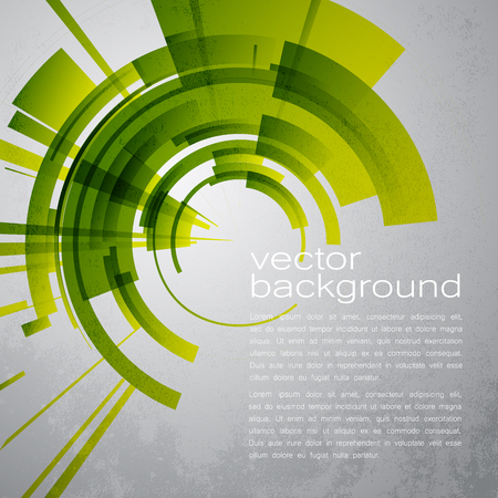 techno: Techno Vector Circle Abstract Background Illustration