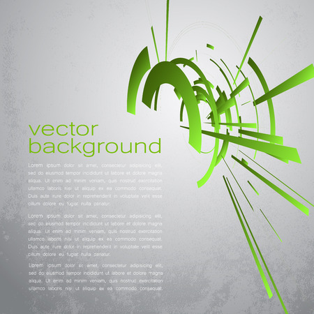 retina scan: Techno Vector Circle Abstract Background Illustration