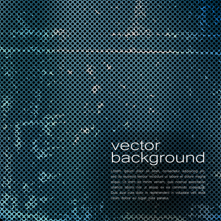 techno: Techno Vector Background Texture of Iron Pattern