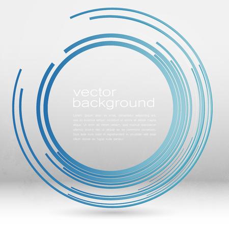 Techno Vector Cirkel Abstracte Achtergrond Stockfoto - 46362493