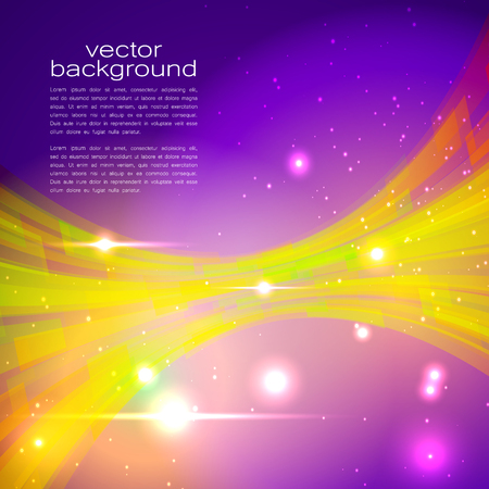 darkly: Techno Vector Curves Tapes Abstract Background