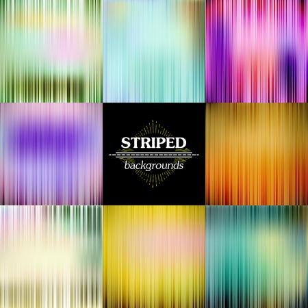 Resumen de las rayas del espectro Vector conjunto de fondos