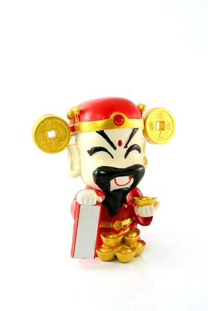 Chinese Small fortune doll photo