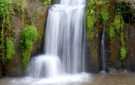 Waterfalls Nature Landscape photo