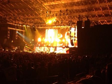 Metallica live  Stock Photo