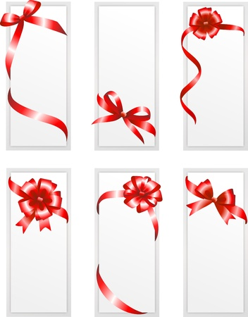 Card with ribbon Stock Vector - 18226898