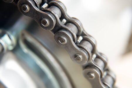 Motorbike transmission chain