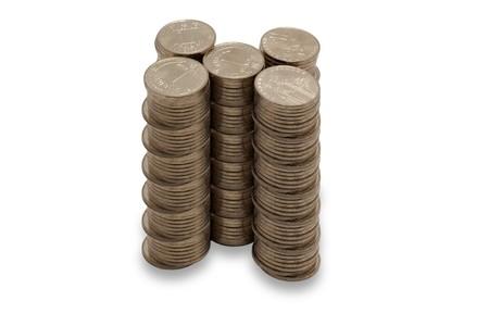 gold colour  coins photo