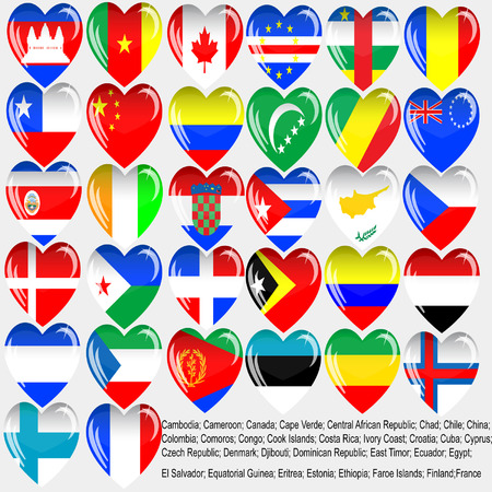 World flag Иллюстрация