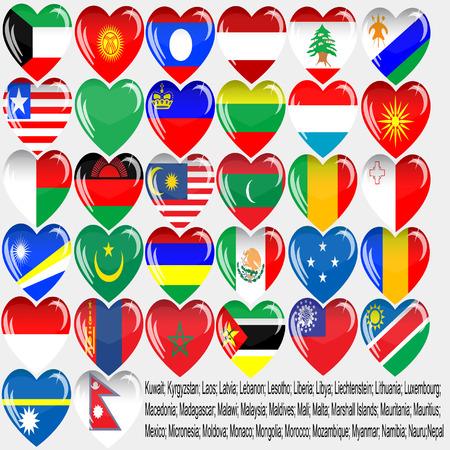 Flaggen der Länder der Welt