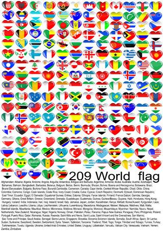 the netherlands: Lijst van vlaggen van de landen van de wereld