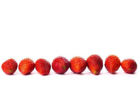 strawberrys: isolated strawberrys on white background