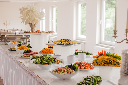 catering food for wedding buffet