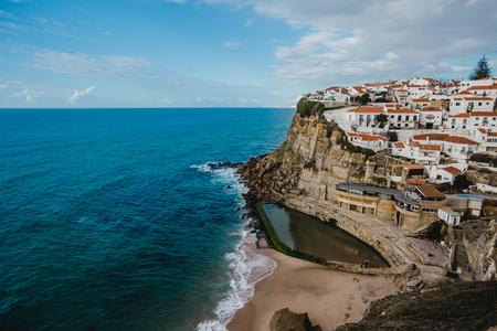 Portugal Atlantic ocean old town Azenhas