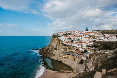 Portugal. Atlantic ocean. old town Azenhas