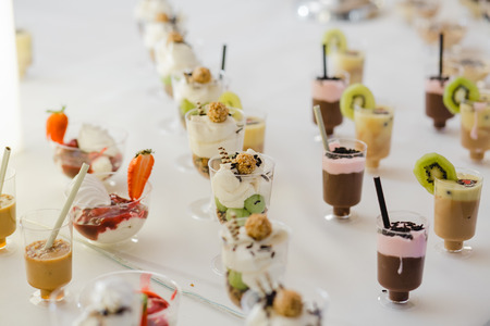 catering wedding buffet for events food Stock Photo